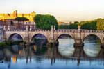 Sunset over Rome 4