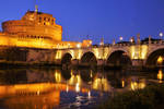 Rome by night -Castel Sant'Angelo