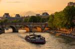 Sunset over Paris 6