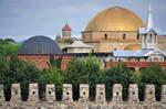 Akhaltsikhe - Rabati fortress 3 -domes and turrets