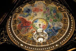 Opera Garnier - ceiling