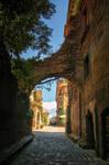 Streets of Civita di Bagnoregio 6