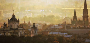 Late afternoon over Lviv