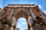 Forum Romanum 8 - Arch of Septimius Severus