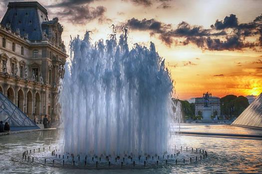 Sunset over Paris 14