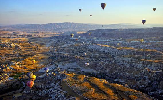 Balloon flight over Cappadocia - 4:50 AM