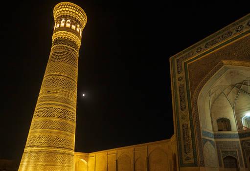 Bukhara by night