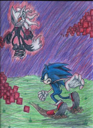 Sonic vs Infinite by SonicCrazyGal