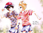 Ness and Lucas For Mony