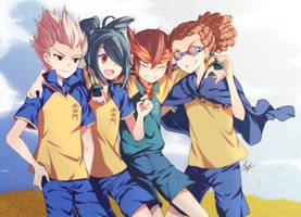 Ina11: Teamwork by lian-ne