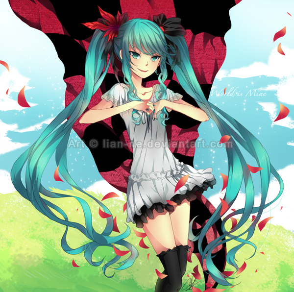 Vocaloid: World is Mine by lian-ne