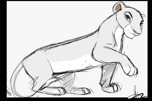 Sketch Comission by WhiteDansha