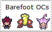 Barefoot OC stamp by Karasu-96