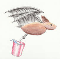 Janitor Bat -- Carrying Water