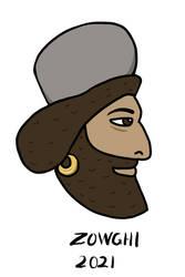 Iranian Men's Hats: Achaemenid Kolah
