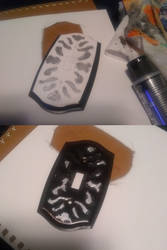 DIY Disaster: Light Switch Plate Painting