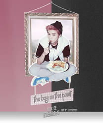 Theboyonthepaint Poster by LittleMirr