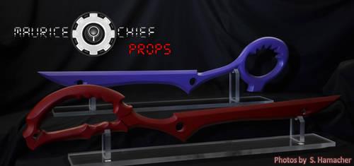 Kill la Kill - Scissor Blade Replicas by Mauricechief