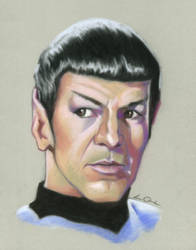 Classic Spock by LauraQuiles