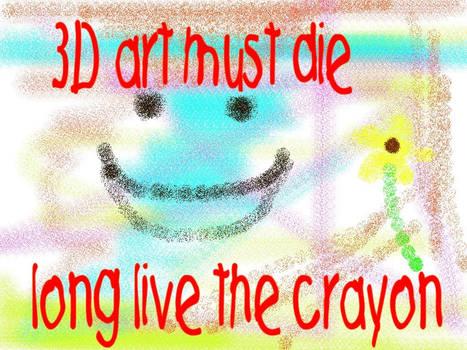 3d art must die