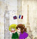 APH-Nyo!France x England