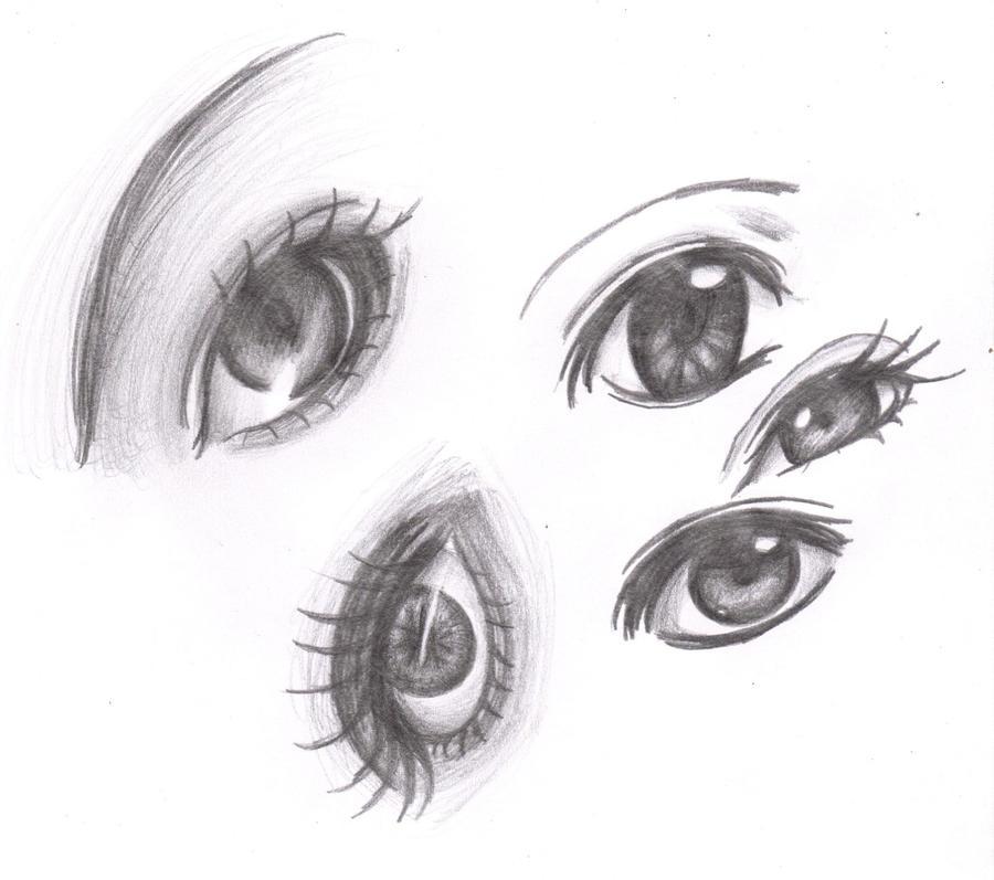 Ojos a mi estilo set 1 by yuukii-chan