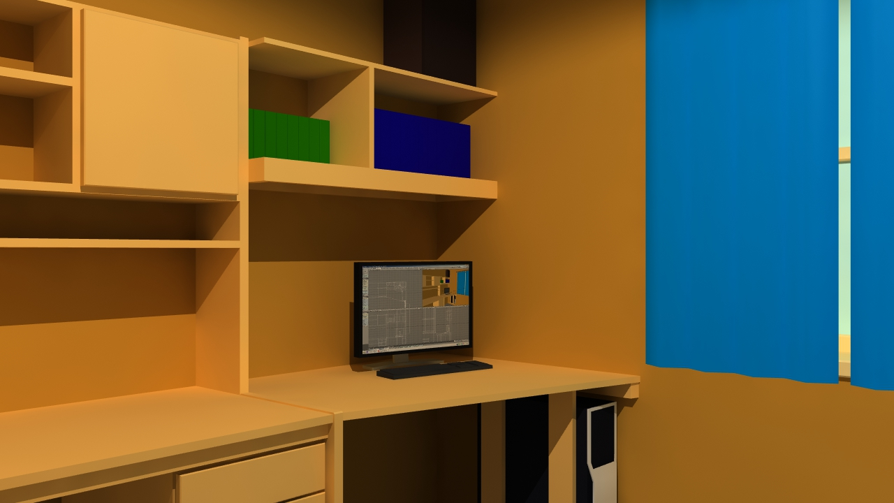 3d room desktop by kre380 on deviantart 3d room