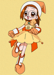 Pretty witchy Hazuki chi