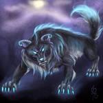 Noob Saibot Wolf