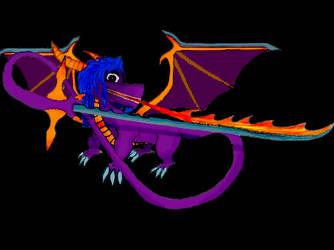 me the purple dragon