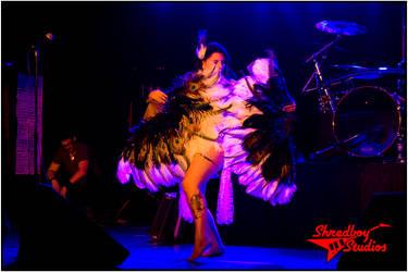fan dance by Morganlefey86