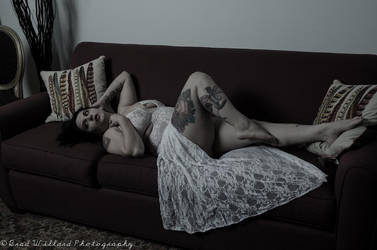 White lace artistic by Morganlefey86