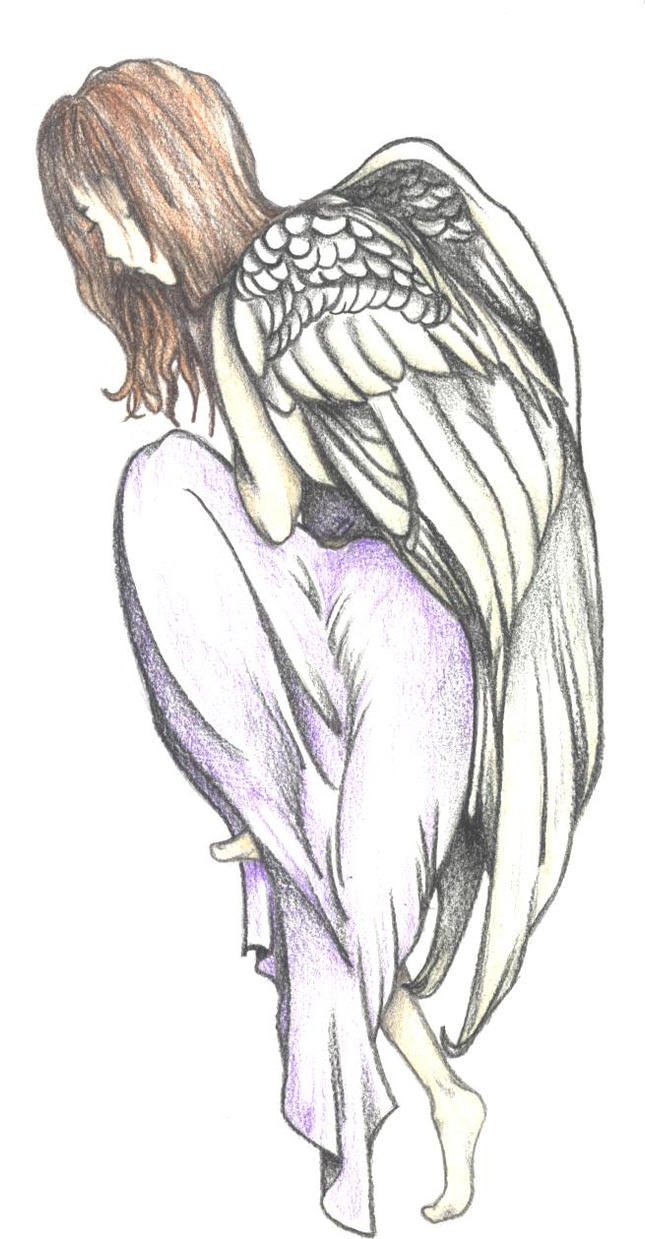 Angel Tattoo Design by