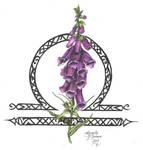 Zodiac Flower Design: Libra