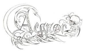 Aegnor Logo Concept 1 by D-Angeline