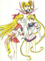 Sailor Moon Fan Art Commission by D-Angeline