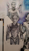 Cyberman WIP by D-Angeline
