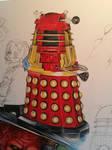 Dalek Supreme Detail