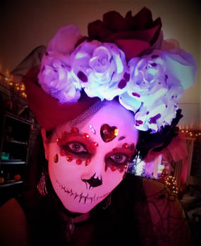 Day of the Dead in Red