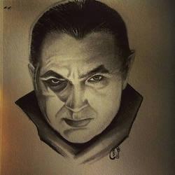 Dracula Sketch by D-Angeline