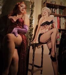 Jessica Rabbit Cosplay, feat. Marilyn Monroe