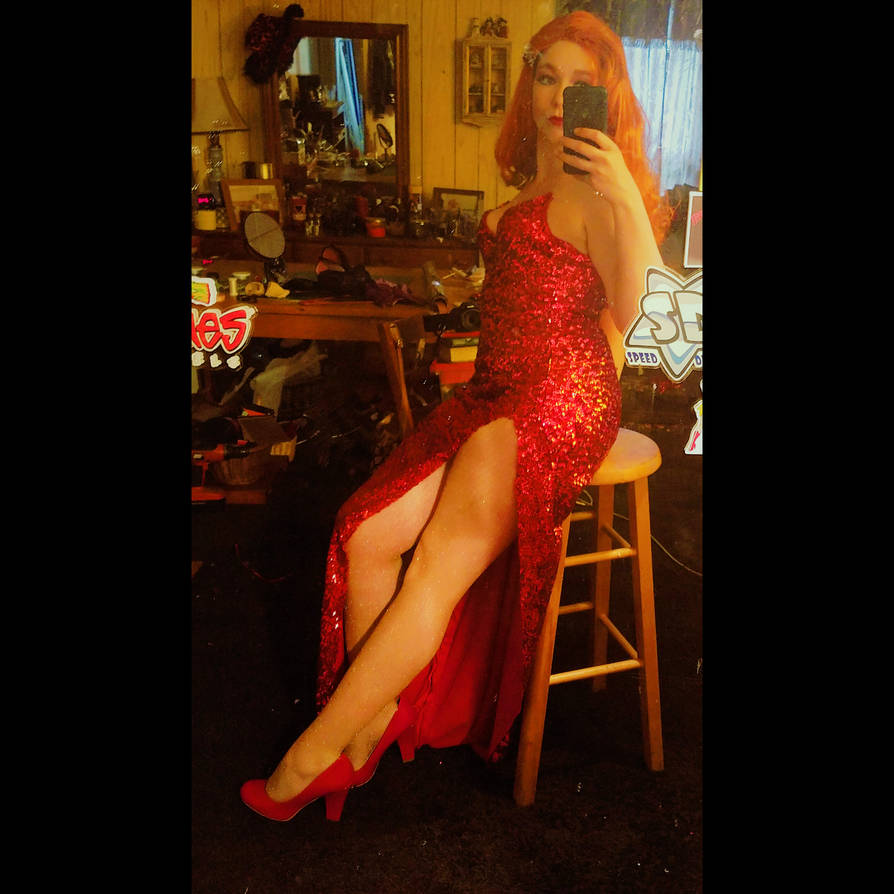 Jessica Rabbit Cosplay Pin-Up by D-Angeline