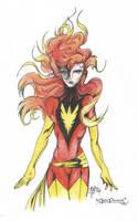 Dark Phoenix by D-Angeline
