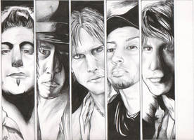 Buckcherry Graphic Novel Style by D-Angeline