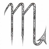 Scorpio Symbol Design by D-Angeline