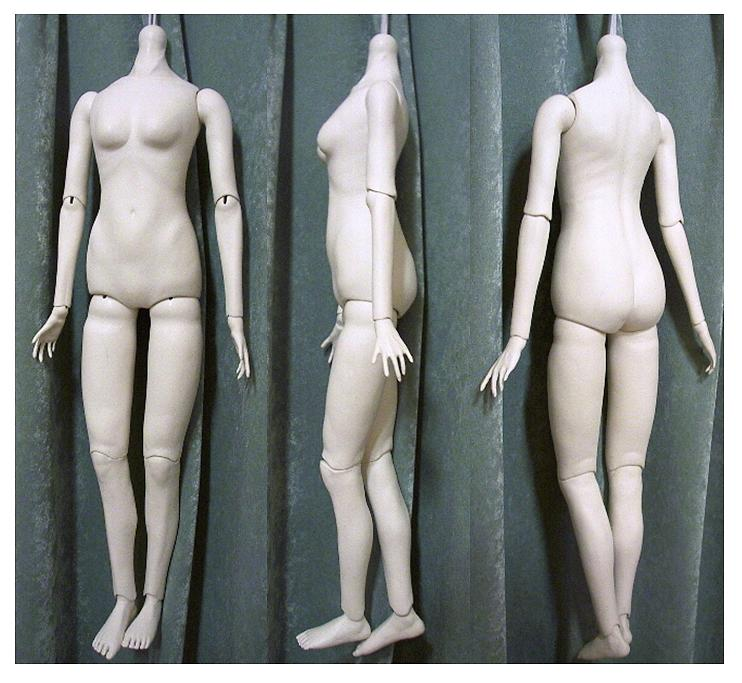 2nd Ball Jointed Doll Making-4 by hal-io