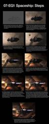 07-EG1 - Spaceship: Steps by ehaft