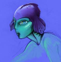 mermaid 02 by lorenzopompei