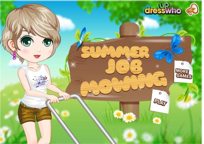 summer job mowing lawns by kute89 on deviantart