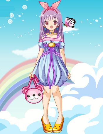 Anime Girl 20 Dress Up Game